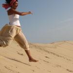 Courir sur la dune du pilat